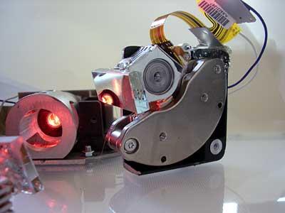 2D hdd laser scanner