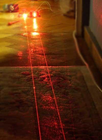 dual laser beam