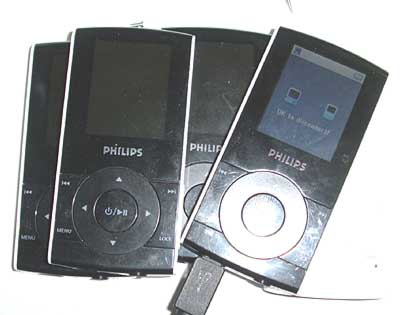 Philips Mp3-Mp4 player