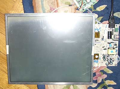LCD diagnostika