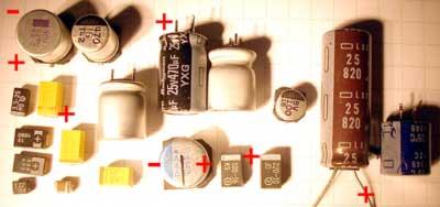 capacitors electrolytic