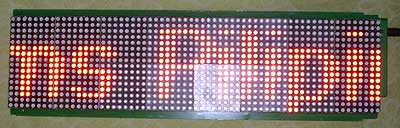 RED LED board