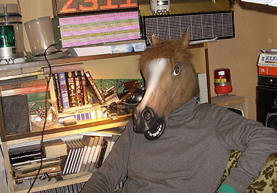 Happy New Year from Horse Mask