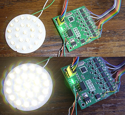 DMX LED dimmer