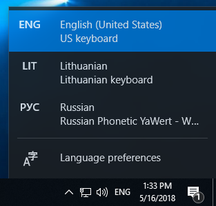 windows 10 english language packs