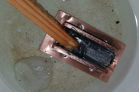 selfmade heat pipe for power LED