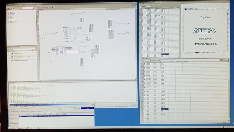 Altera Quartus MOS 6526 commodore chip